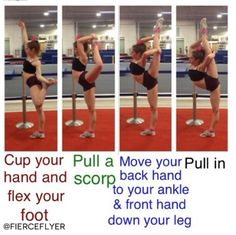 #cheer #cheerleading #cheerleader #scorpion #flexible #needle #stretch #diy #howto #dance