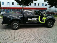 Compleet ontwerp bestickering pickup