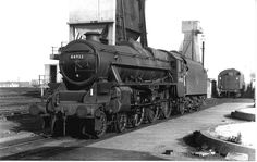 44932 at Normanton, 17th Oct 1965.