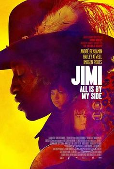 Vintage Music Art Poster - Jimi Hendrix - 'All is by my side' 0538 – The Vintage Music Poster Shop Hayley Atwell, Jimi Hendrix, Imogen Poots, Vintage Music Posters, Drama, Color Harmony, Rock Legends, My Side, Movies