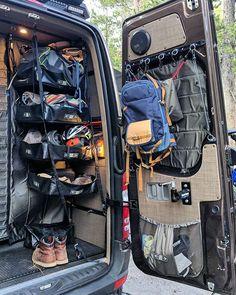 RB Components Leader in Outfitting Shops Garages Sprinter Camper, Truck Camping, Van Camping, Camping Meals, Vans, Camping Accesorios, Van Storage, Bmw Autos, Camper Van Conversion Diy