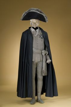 The Swedish king Gustav Iii was shot at a masquerade ball in 1792 and died a painful death a couple of weeks later. These are the clothes he wore on the ball when he was shot.