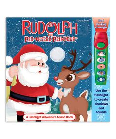 Look what I found on #zulily! Rudolph the Red-Nosed Reindeer Flashlight Adventure Hardcover by Rudolph the Red-Nosed Reindeer #zulilyfinds