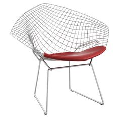 Found it at AllModern - Bertoia Diamond Side Chair in Chrome