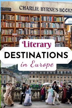 Book lovers won't want to miss these literary destinations in Europe. Europe is full of bookish hot spots that readers will love. Visit Platform 9 a Jane Austen festival, famous graves, and more! Instagram Inspiration, Literary Travel, Europe Europe, Famous Graves, Us Travel, Travel Sights, Hot Spots, Travel Guides, Travel Tips