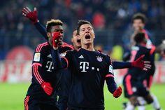 Bundesliga 2015/16: FC Bayern München schlägt HSV durch Tore von Robert Lewandowski