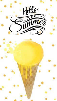 Summer Lemon iPhone Wallpaper Lock Screen @PanPins