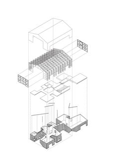 The Best Architecture Drawings of 2016,Courtesy of Yasutaka Yoshimura Architects