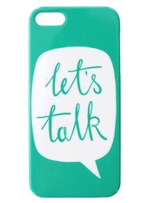 Let's Talk | Phone Cases | Shop | Alphabet Bags