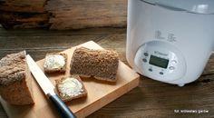 Chleb na piwie przygotowany przy pomocy Bomann BBA 5013 CB (Wypiekacz do chleba, 12 programów).