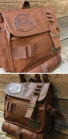 Star Wars Rey's Backpack - Star Wars leather backpack #backpack #starwars #rey