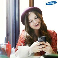 El #LifeStyle Samsung provoca sonrisas en cualquier instante. Samsung, Smartphone, Appreciation