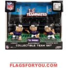 Baltimore Ravens Lil' Teammates Collectible Team Set Ravens Home, Baltimore Ravens, Flags, Flag