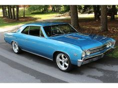 1967 Chevrolet Chevelle SS. Awesome American Muscle!