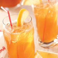 Lemon Ice Tea Mix. I like to add fresh mint sprigs to the drink.