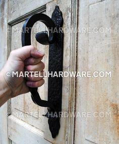 Wrought Iron Door Pulls   doors   Pinterest   Door pulls, Wrought ...