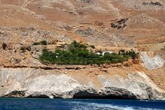 Η αγέρωχη Μονή του Αγίου Νικήτα στα Αστερούσια όρη,Νότια Κρήτη.