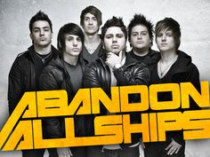 Abandon All Ships, one of the few electro-hardcore bands I listen to