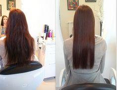 Prostowanie keratynowe. #hair #włosy