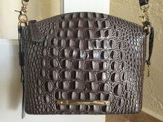 Brahmin Mini Duxbury Crossbody Falcon Grey Melbourne Leather | eBay