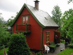 Image result for norwegian cottage exterior paint colors