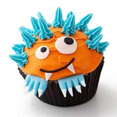 Cute monster cupcake :)