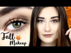 FALL MAKEUP TUTORIAL | BRONZE EYES | Sara Isabel - YouTube