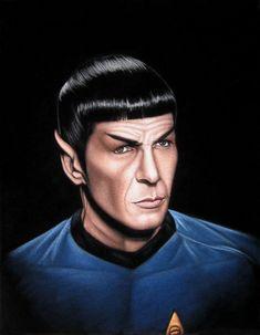 Spock by BruceWhite.deviantart.com on @DeviantArt