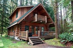 Stay at a cabin in the mountains. With hiking trails, and a lake/river for fishing and swimming.