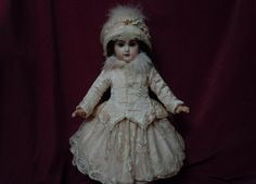 Superb Rose Silk Couturier Costume 3 pcs Dress w/ Petticoat Jacket Hat from believe on Ruby Lane
