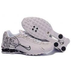 super popular ea8b8 8ff1d Nike Shox Cartoon Black White Men Shoes 79.59 Nike Shox For Women, Mens  Nike Shox