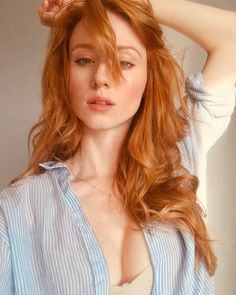 Redheads Be Here - gewelmaker: Alina Kovalenko I Love Redheads, Redheads Freckles, Hottest Redheads, Red Hair Freckles, Beautiful Red Hair, Beautiful Eyes, Red Hair Woman, Ginger Girls, Gorgeous Redhead