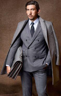 Adam Driver in a suit
