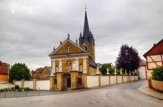 My home town church -!