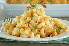 Jalapeno Popper Buffalo Chicken Macaroni & Cheese