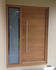 oak doors contemporary style