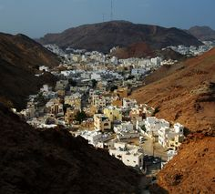 Muscat - Oman. Beautiful country & beautiful people!  My mom worked here for 11 years!