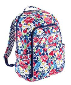 Vera Bradley Laptop Backpack in Summer Cottage Vera Bradley Handbags 6a691eef174bb