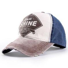New brand cap baseball cap fitted hat Casual caps gorras 5 panel hip hop  snapback hats wholesale wash cap for men women unisex 9ea3e849259f