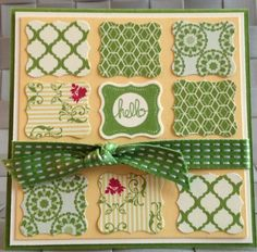 Stampin Up Projects | Stampin Up Projects / Mini Card Print Poetry Stampin Up Petite Curly ...