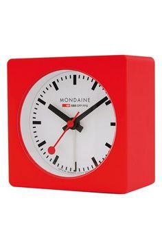 Mondaine Alarm Clock