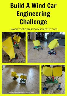 Build A Wind Car Engineering Challenge - The Homeschool Scientist
