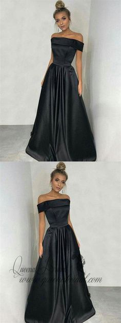 Buy Simple Black A-line Off the Shoulder Satin Prom Dresses, Long Party Dresses uk in uk.Rock one of the season's hottest looks in a burgundy homecoming dress or choose a timeless classic little black dress. Party Dresses Uk, Prom Dresses For Teens, Prom Dresses 2018, Dresses Short, Black Prom Dresses, Cheap Prom Dresses, Trendy Dresses, Occasion Dresses, Evening Dresses