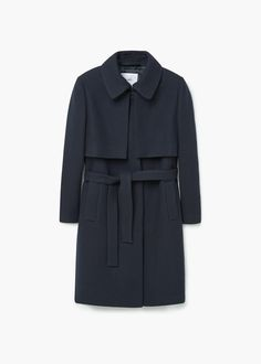Belted wool coat - Women | Women\'s fashion | Pinterest | Wool coats ...