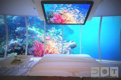 Luxury Underwater Hotel. Dubai.