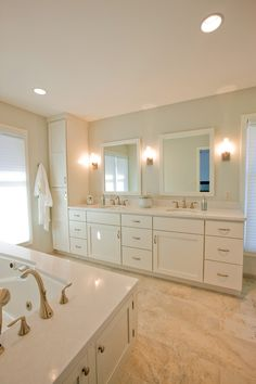 classic and soothing off white bathroom by crystal kitchen bath white bathroom