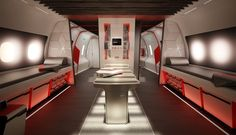 NIKE athlete's sky-high training and treatment plane / BY TEAGUE