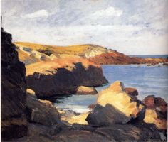 Edward Hopper - Sun at Ogunquit (1914)