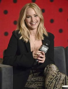 Jennifer at the #mother press conference in toronto. September, 10th