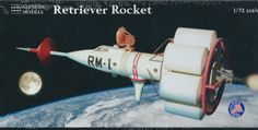 New Release! Glencoe's Classic 1/72 Retriever Rocket Kit